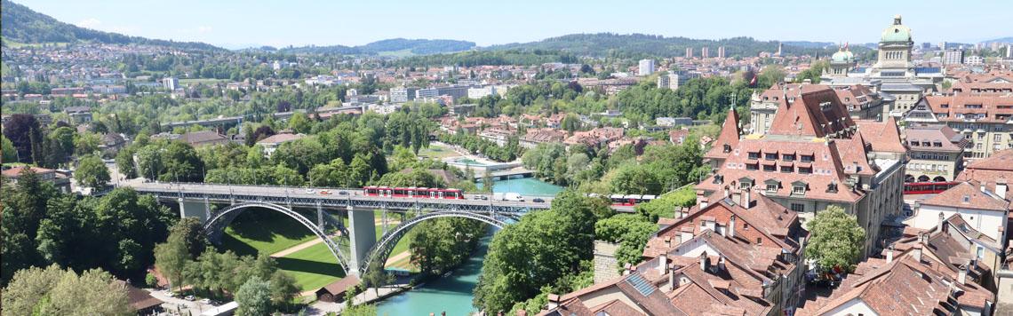 Die universelle Freimaurer Liga in der Stadt Bern Schweiz