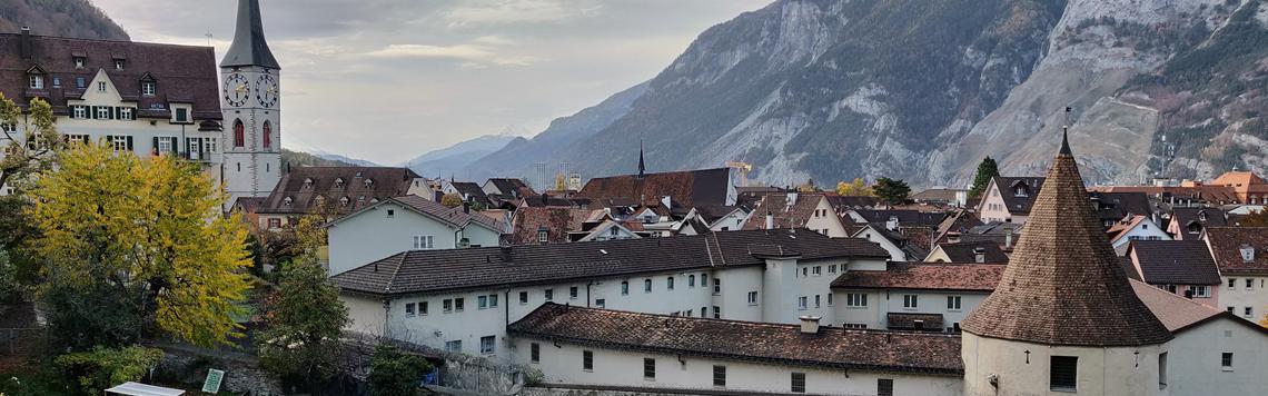 Die universelle Freimaurer Liga in der Stadt Chur